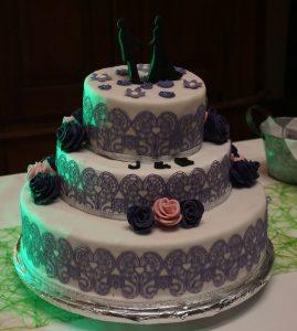 3 Stockige Hochzeitstorte Sabrinas Backvergnugen