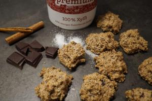 4) Gebackene zucker- und glutenfreie Eiweiß-kekse