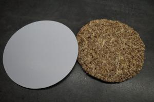 12) Für den Deckel den Boden auf ein Cakeboard...