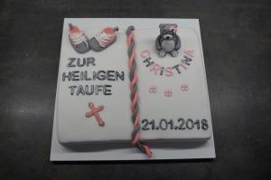 32) Fertige Torte