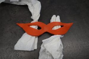 4) Die Masken trocknen lassen