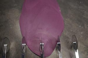 20) Mit dem Bisiklet 5cm breite Streifen zuschneiden