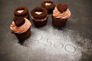 13) Die Muffins dekorieren