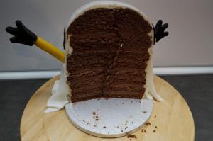 18) Nochmal ein Bild vom Inneren der Torte