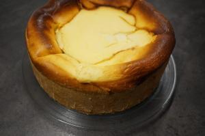 11) Fertig gebackener Kuchen