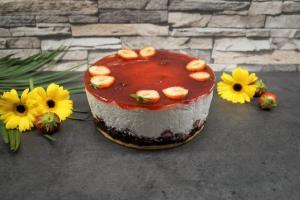 11) Fruchtmasse verteilen, kühl stellen