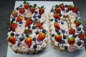21) Fertige Torte als Number-Cake