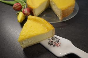 Käsekuchen mit Zitronencreme