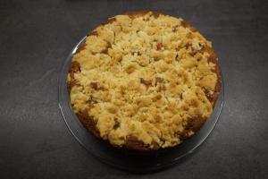8) Den Kuchen nach dem Backen abkühlen lassen
