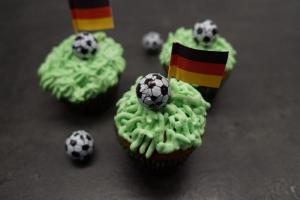 Fussball Cupcakes