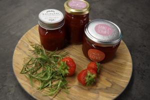 Erdbeer-Rosmarin Marmelade