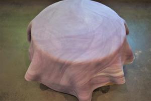18) Danach über die Torte stülpen und glatt streichen