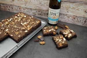 Craft-Beer-Brownies (Meine Backbox)