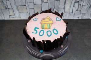 Cranberry-Torte: 5.000 Follower
