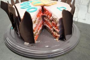 30) Die angeschnittene Torte :-)