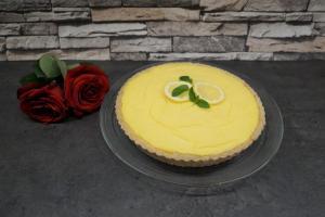 Zitronen-Tarte ohne Zucker