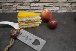 Pfirsich-Maracuja Torte