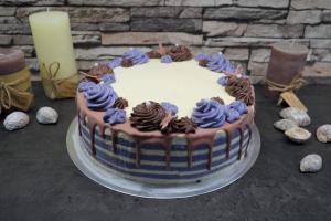 Pfirsich-Maracuja Torte mit WOW-Effekt
