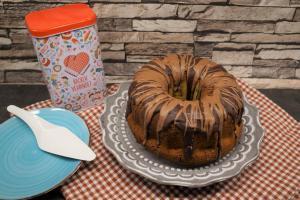 Vanille-Cranberry Kuchen mit Schokotröpfchen