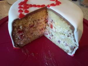 Erdbeer-Yoghurette Torte