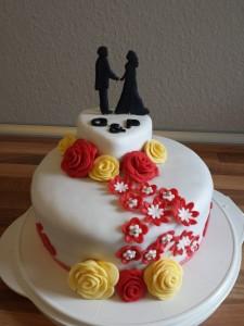 12) Fertige Torte