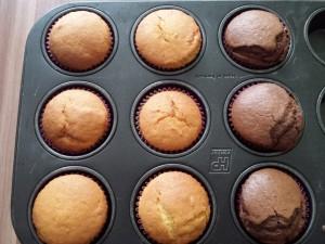 11) gebackene Muffins abkühlen lassen