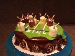 21) Fertige Torte