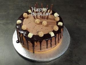 19) Fertige Schoko-Giotto Torte