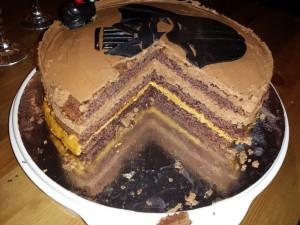 11) Angeschnittene Torte
