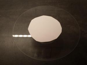 2) Eine Tortenplatte zuschneiden