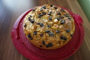 Apfel-Zimt-Cranberries-Kuchen