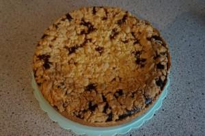 7) Fertig gebackener Kuchen