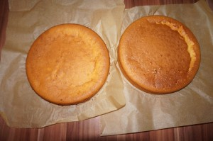 13) Fertig gebackener Wunderkuchen