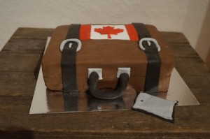 8) Fertige Torte