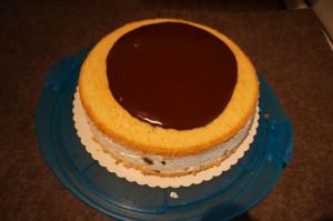 9) Zartbitter Schokolade und Sahne zu einer Ganache verarbeiten