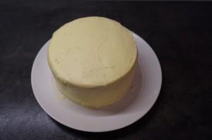 9) Kleine Torte einstreichen