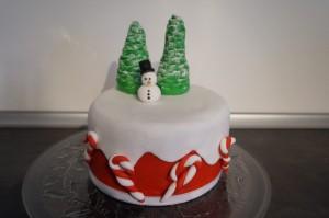 13) Fertige Torte