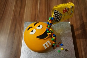 18) Fertige Torte