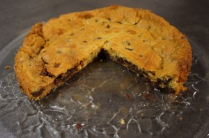 6) Angeschnittener Cookie mit Nutella-Kern