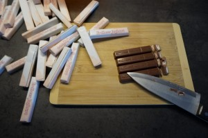 5) Erbeer-Schoko-Ganache zubereiten
